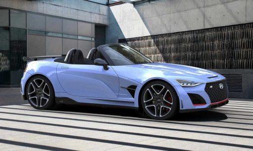 Hyundai N Roadster rendered, needs production version