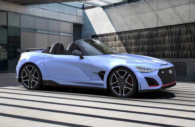 Hyundai N Roadster rendered, needs production version ...