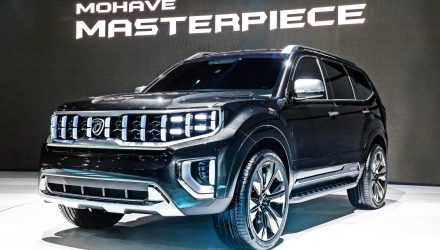 Kia Masterpiece, Kia Signature SUV concepts revealed