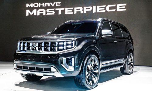 Kia Masterpiece, Kia Signature SUV concepts revealed