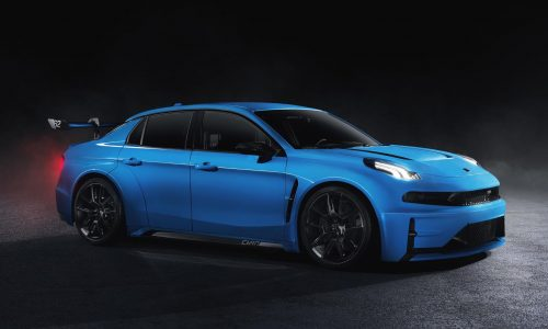 Lynk & Co 03 Cyan Racing road-going concept revealed