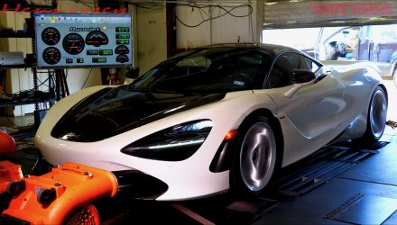 Stock McLaren 720S produces 504kW ATW on dyno (video)
