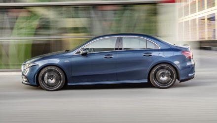 Mercedes-AMG A 35 sedan revealed