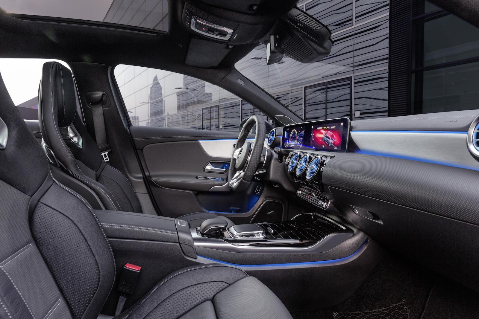 Mercedes Amg A 35 Sedan Revealed Performancedrive