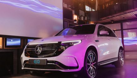 Mercedes-Benz EQC makes Australian debut in Melbourne