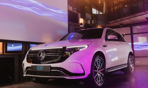 Mercedes-Benz EQC makes Australian debut in Melbourne