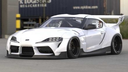 Rocket Bunny plans epic wide-body Toyota GR Supra (video)