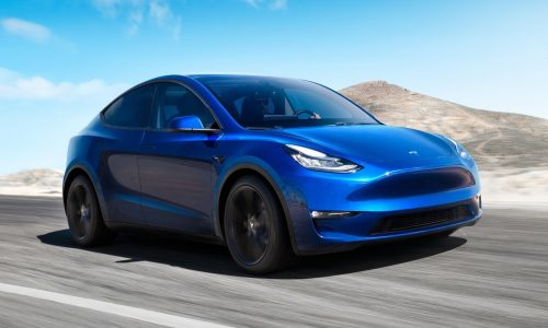 Tesla Model Y revealed as new mid-size SUV
