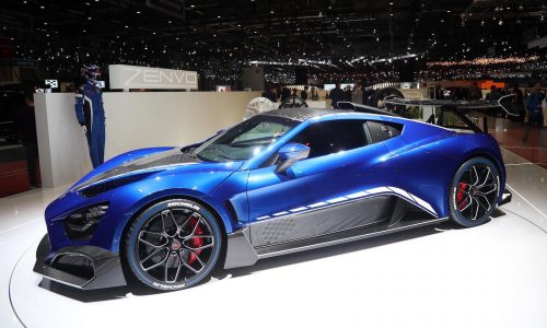 Updated Zenvo TSR-S unveiled at Geneva show with 878kW V8