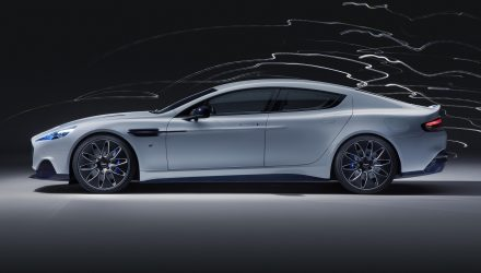Aston Martin Rapide E fully electric grand tourer debuts