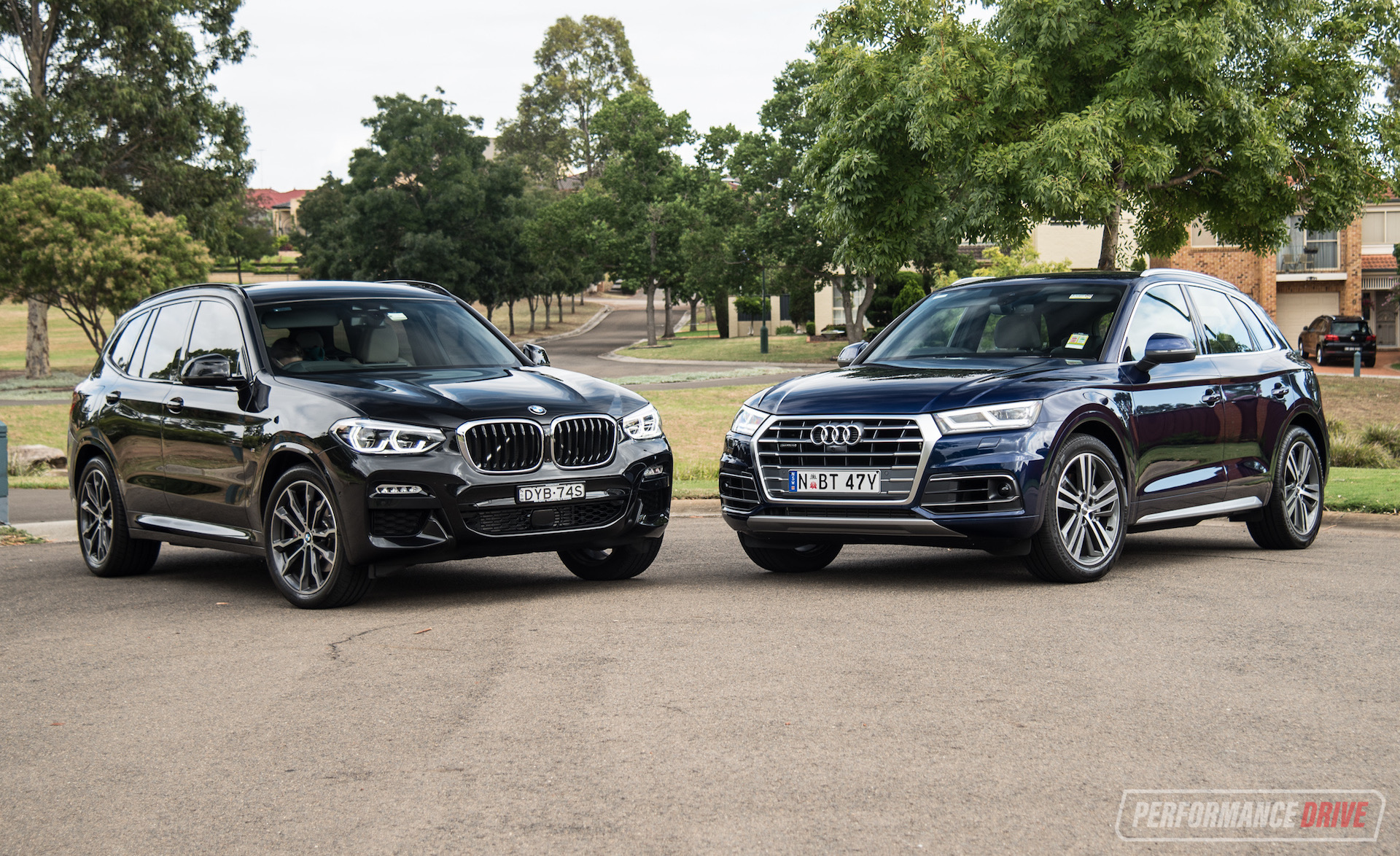 2019 Audi Q5 Vs Bmw X3 Mid Size Suv Comparison