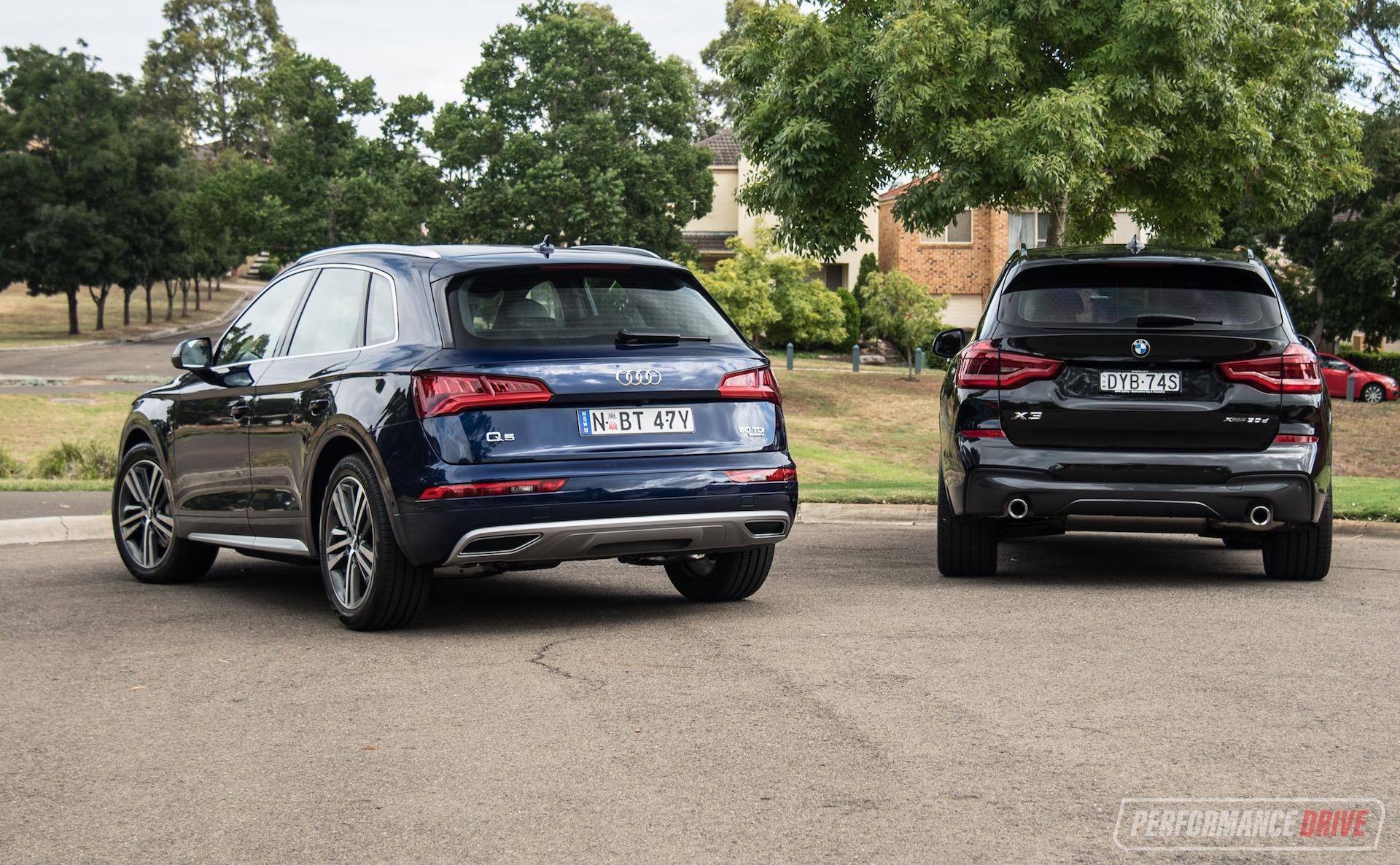 2019 Audi Q5 Vs Bmw X3 Mid Size Suv Comparison Performancedrive