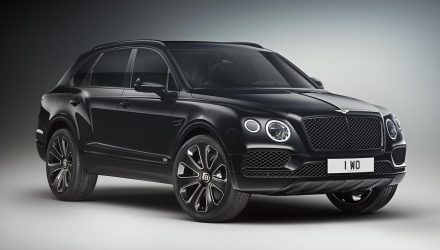Bentley Bentayga V8 Design Series announced
