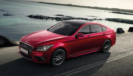 2019 Genesis G80 on sale in Australia in June