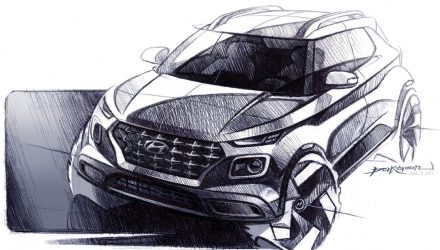 Hyundai Venue compact SUV previewed, debuts at NY show