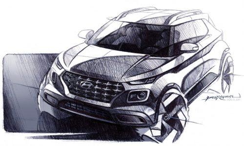 Hyundai Venue compact SUV previewed, debuts at NY show