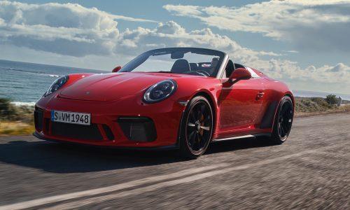 2019 Porsche 911 Speedster revealed, comes with GT3 engine