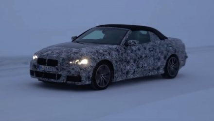 Video: 2020 BMW 4 Series convertible spotted, gets soft-top roof