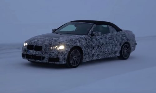 2020 BMW 4 Series convertible spotted, gets soft-top roof (video)