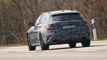 2020 BMW M340i Touring wagon spotted, sounds sick (video)