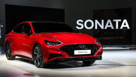 2020 Hyundai Sonata Turbo revealed at Seoul motor show