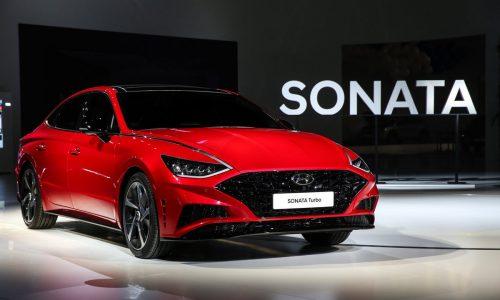 2020 Hyundai Sonata Turbo revealed at Seoul motor show