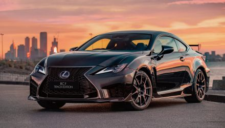 2020 Lexus RC F, RC Track Edition announced for Australia