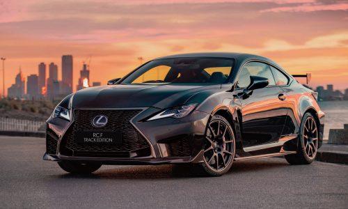 2020 Lexus RC F, RC Track Edition announced for Australia