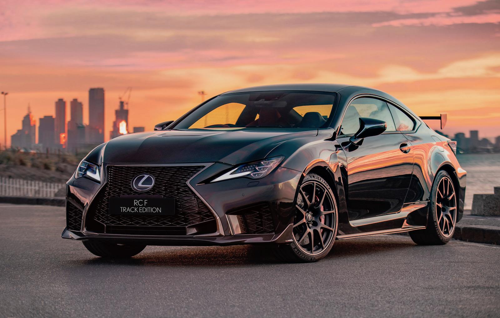 Lexus rcf 2020
