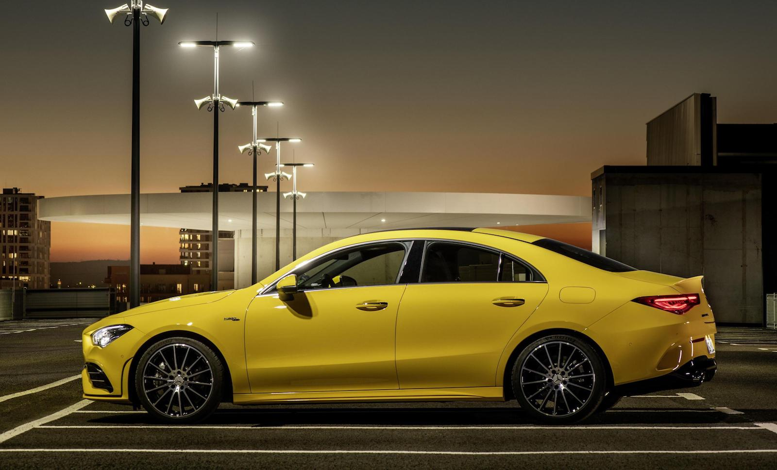 Performance Auto Sales >> 2020 Mercedes-AMG CLA 35 4-door coupe revealed ...