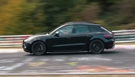 2020 Porsche Macan Turbo spotted, looks quick (video)