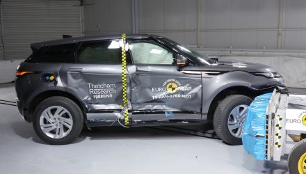 2020 Range Rover Evoque receives 5-star NCAP safety rating