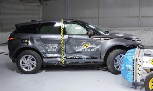 2020 Range Rover Evoque receives 5-star NCAP safety rating