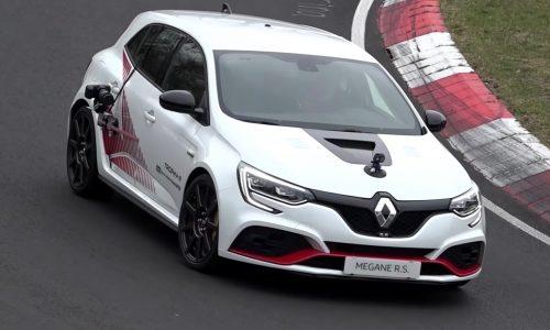 Renault Megane RS Trophy-R spotted at Nurburgring (video)