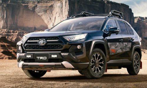 New Toyota RAV4 TRD & Modellista packs revealed