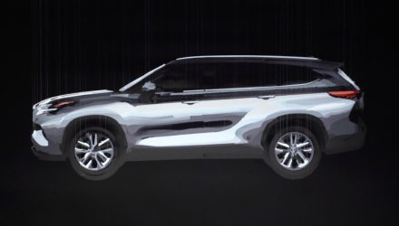 2020 Toyota Kluger previewed, to switch to TNGA platform