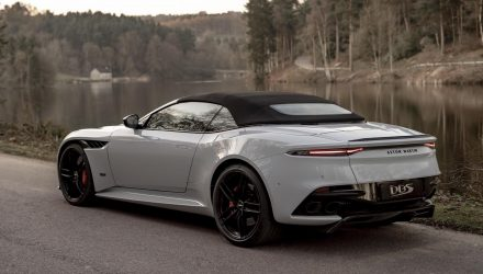 Aston Martin DBS Superleggera Volante convertible revealed