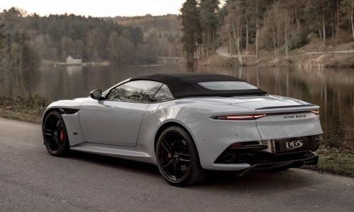 Aston Martin DBS Superleggera Volante convertible revealed