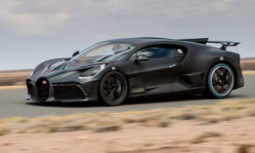 Bugatti Divo undergoes final testing in extreme heat