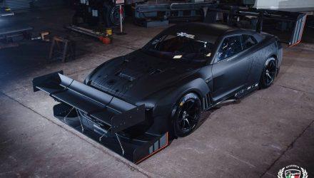 Crazy Nissan GT-R R35 built for Jaguar Simola Hillclimb