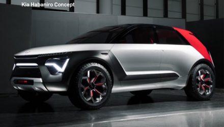 Kia Habaniro concept leaks out, showcases awesome design