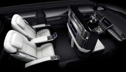 Lexus LM MPV unveiled, features massive entertainment unit