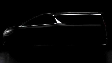Lexus LM previewed, brand first luxury MPV