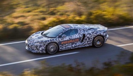 McLaren 'Grand Tourer' previewed again