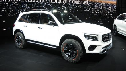 Mercedes-Benz Concept GLB revealed, miniature G-Class?