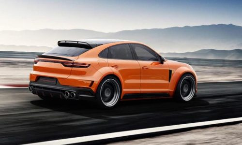 TopCar plans awesome wide-body kit for Porsche Cayenne Coupe