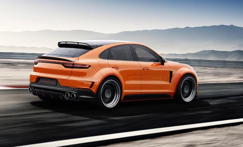 TopCar plans awesome wide,body kit for Porsche Cayenne Coupe