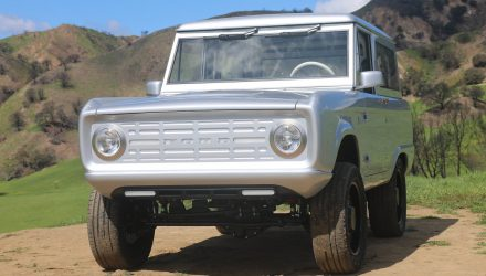 Zero Labs creates electric 1966-67 Ford Bronco project (video)