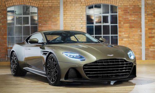 Aston Martin DBS Superleggera James Bond edition announced