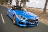 2019 BMW Z4 M40i-blue